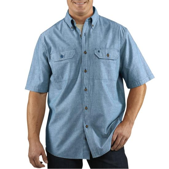 Carhartt Fort Solid Button Front S/S Shirt